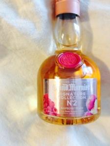grand marnier - cognac - raspberry - peach